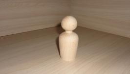Фигурка. Кукла деревянная фигурная - 9.5 см