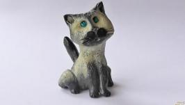 Cтатуэтка кошка Сиамская
