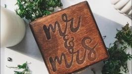Свадебная шкатулочка ′Mrmrs′