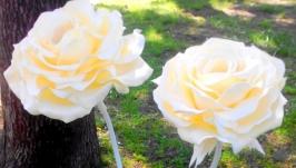 роза светильник большие цветы торшер
