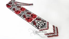 Гердан ′Вышиванка′ из чешского бисера