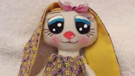 Зайка Милашка - интерьерная игрушка