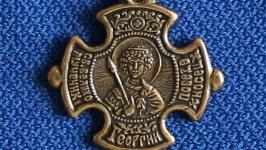 Кулон Св. Георгій Побідоносець. 7439