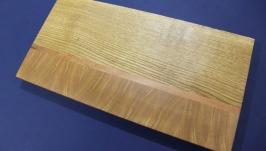Разделочная доска из разных пород дерева
