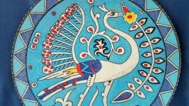 тарілка декоративна ′Пава′