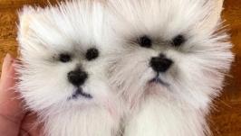 Брошь «Собачки»