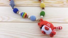 Слингобусы с погремушкой Счастливый кот