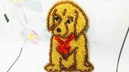 Брошь ′Собака′