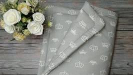 Плед одеялко конверт на выписку