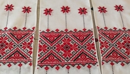 Свадебный рушник ручная вышивка