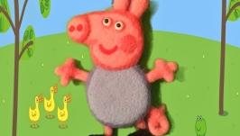 Джордж из мульт. сериала Свинка Пеппа