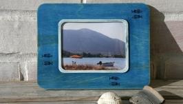 Фоторамка «Рыбы» с серией фотографий «Синий альбом»