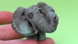 Слон Фигурка керамическая