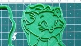′Кішка Мері посміхається′ Форма для печива та пряників