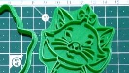 ′Кішка Мері сердиться′ Форма для печива та пряників