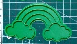 ′Радуга з хмаринками′ Форма для печива та пряників