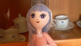 Интерьерная кукла ′Синеглазая Мечтательница′