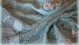 Плед из хлопка 100% для новорожденного на выписку