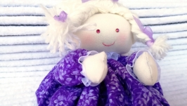 Саше Кукла с лавандой