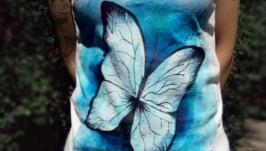 Женская майка ′Fairy Butterfly′