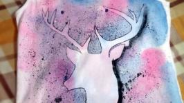 Майка женская ′Fairy forest′