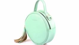 Круглая сумка Fabrizio ′Tiffany′