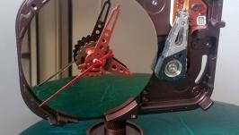 Настольные часы из жесткого диска. Cooper hdd clock