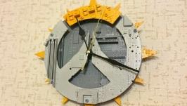 Overwatch, настенные часы из материнских плат