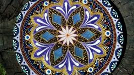 тарілка декоративна ′Бузкові переливи′