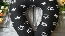 Автомобильная подушка черно-белое королевство , 41 см * 34 см