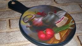 Кухонная доска Сало