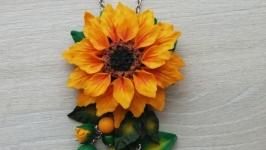 Кулон ′Цветок Солнца′