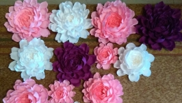 Цветы на стену