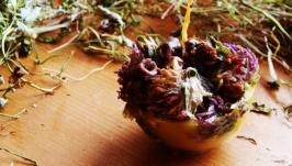 Травяная свеча ′Ягодная полянка′