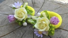 Резиночки із квітів