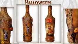 Оригинальный декор для дома на Хэллоуин Бутылка на Halloween Ведьмочки