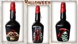 Сувенирная бутылка на Halloween «Вкус смерти» Декор на Хэллоуин