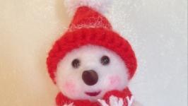 тут изображено Снеговичок