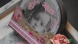 Чайний набір ′Шеббі-троянди′.