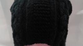 Шапка женская черная