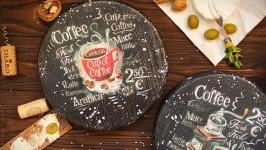 набор досок Любовь к кофе обязательна