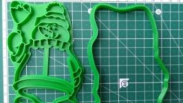 ′Сніговик з кулькою′ Форма для печива та пряників