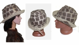 ′ Дакота ′ шляпа унисекс - авторский войлок