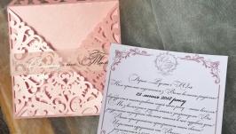 Дизайнерські запрошення на весілля
