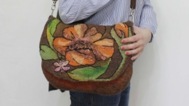 ′Подружка′  - сумка - авторский войлок