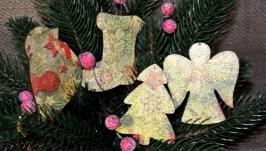 Ялинкові прикраси з дерева ′Новорічний′