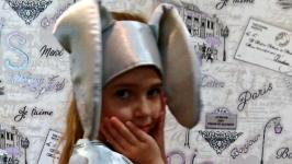 Карнавальный костюм зайчика 3
