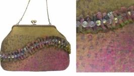 ′Дивный сон′ - сумка - авторский войлок, нуновойлок
