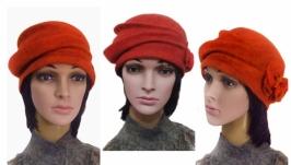 ′ Каприз ′ шляпка - авторский войлок