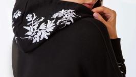 Худі з дизайнерською вишивкою